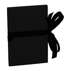 Leporello big, 14 photos - size 13 x 18 cm, black