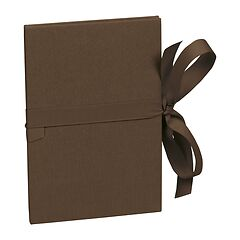 Leporello big, 14 photos - size 13 x 18 cm, brown