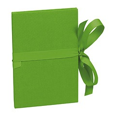 Leporello big, 14 photos - size 13 x 18 cm, lime