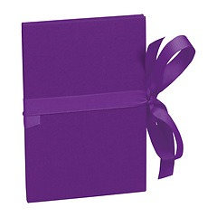 Leporello big, 14 photos - size 13 x 18 cm, plum