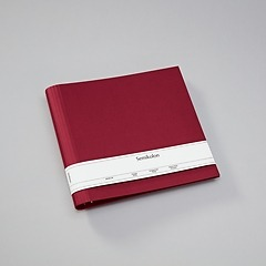 23 Rings Scrapbooking Ring Binder, expendable, efalin cover, burgundy