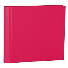 23 Rings Scrapbooking Ring Binder, expendable, efalin cover, pink