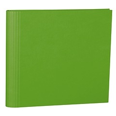 23 Rings Scrapbooking Ring Binder, expendable, efalin cover, lime