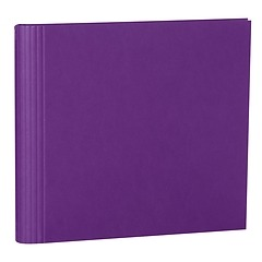 23 Rings Scrapbooking Ring Binder, expendable, efalin cover, plum
