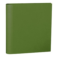 4 Rings Photo Ring Binder, expendable, efalin cover, irish