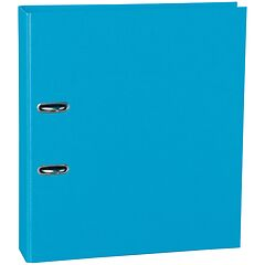 Wide Ring Binder (A4) 7cm spine, lever mechanism, efalin cover, turquoise