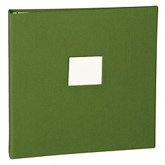 17 Rings Photo Album & Guest Book with book linen cover, irish