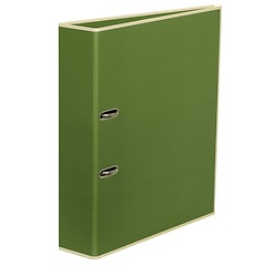 Wide Ring Binder (A4) lever mechanism, removable labels - 7 cm spine, irish