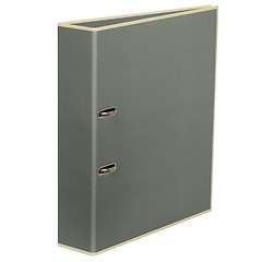 Wide Ring Binder (A4) lever mechanism, removable labels - 7 cm spine, grey