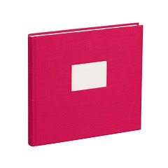 Guestbook, 240 pages, pink