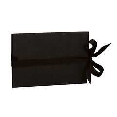 The small leporello horizontal, black