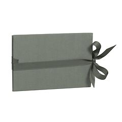 The small leporello horizontal, grey