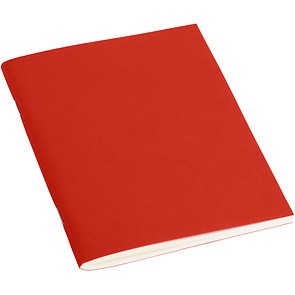Filigrane Journal with laid paper, 64 pages, plain, red