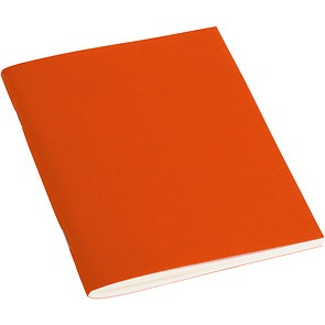 Journal with laid paper (A6) 64 pages, plain, orange