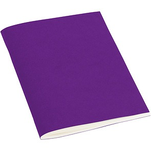 Filigrane Journal A6 with laid paper, 64 pages, plain, plum