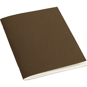 Filigrane A6 Journal with laid paper, 64 pages, ruled, brown