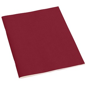 Filigrane Journal A4 with laid paper, 64 pages, ruled, burgundy