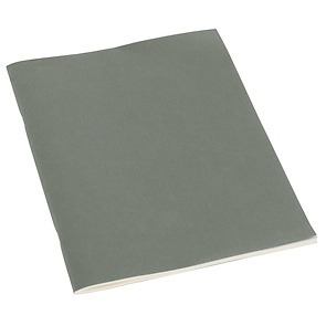 Filigrane Journal A4 with laid paper, 64 pages, ruled, grey