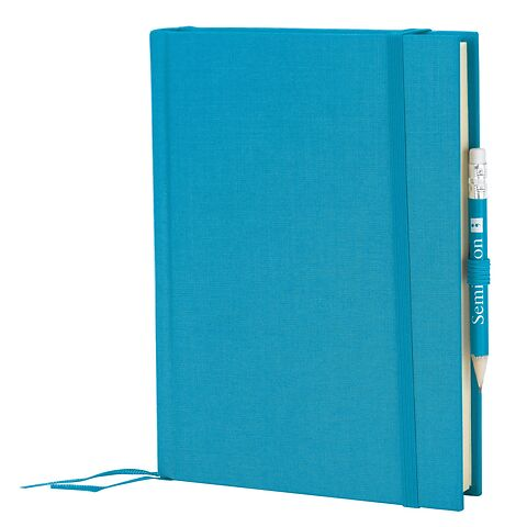 Travel Diary Grand Voyage, 304 pages laid paper, plain, turquoise