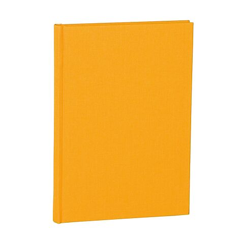 Notebook Classic (A5) dotted, book linen cover, 144 pages, sun