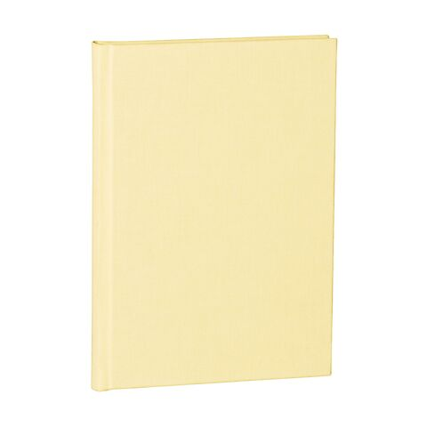 Notebook Classic (A5) dotted, book linen cover, 144 pages, chamois
