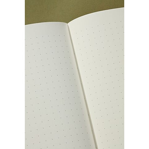 Notebook Classic (A5) dotted, book linen cover, 144 pages, turquoise