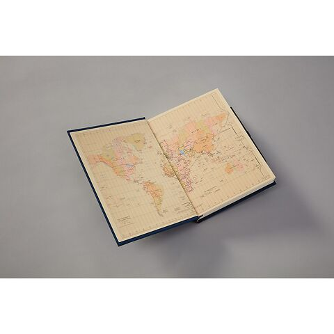 Travel diary 'Grand Voyage' with watermarked paper